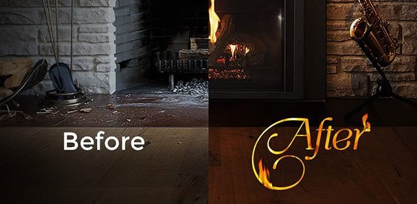 PROOF A NEW FIREPLACE INSERT CAN UPDATE YOUR HOME DESIGN